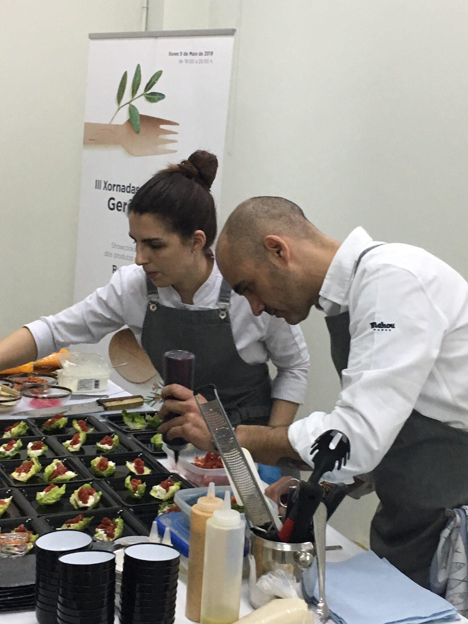III Jornada Gastronómica del Gurés-Xerés con el chef Rafa Centeno