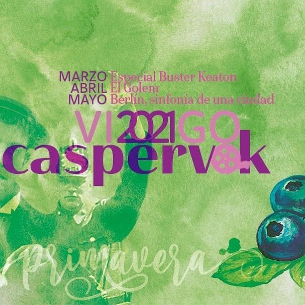 Caspervek, cine mudo y música en directo   Eventos culturales en Vigo